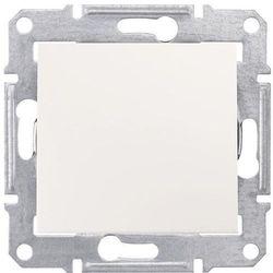 Sedna Łącznik schodowy 16AX kremowy IP20 SDN0400423 SCHNEIDER ELECTRIC