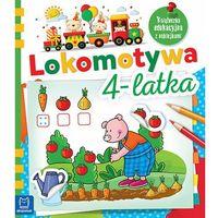 Kolorowanki, Lokomotywa 4-latka. Książeczka edukacyjna z naklejkami - Opracowanie zbiorowe OD 24,99zł DARMOWA DOSTAWA KIOSK RUCHU