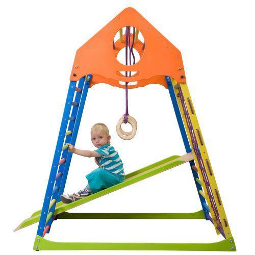 Place zabaw, Wielofunkcyjny plac zabaw dla dzieci inSPORTline Kindwood Set Plus
