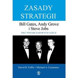 Zasady strategii - Yoffie David, Cusumano Michael (opr. twarda)