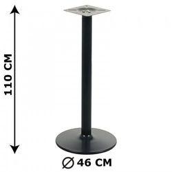 Podstawa stolika NY-B006, wysokość 110 cm, czarna