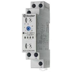 Przekaźnik czasowy 1CO 16A 12-240V AC/DC, Wielofunkcyjny AI, DI, SW, BE, CE, DE 80.01.0.240.0000