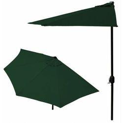 Parasol ogrodowy na taras - zielony- Goodhome