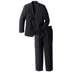 Garnitur (2 części): marynarka + spodnie bonprix czarny