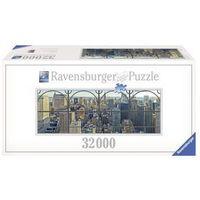 Puzzle, RAVEN. 32000 EL. Widok na Manhattan