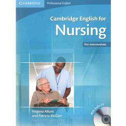 Cambridge English for Nursing Pre-intermediate Student's Boo (opr. miękka)