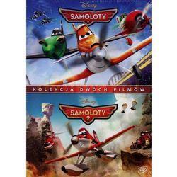 Samoloty / Samoloty 2 (DVD) - Klay Hall, Roberts Gannaway DARMOWA DOSTAWA KIOSK RUCHU