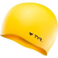 TYR Silicone Czepek pływacki No Wrinkle żółty 2018 Czepki Przy złożeniu zamówienia do godziny 16 ( od Pon. do Pt., wszystkie metody płatności z wyjątkiem przelewu bankowego), wysyłka odbędzie się tego samego dnia.