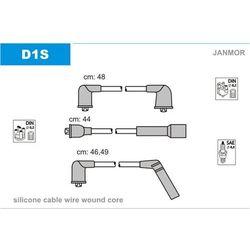 Przewody zapłonowe - zestaw JANMOR D1S