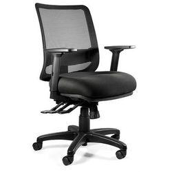 Fotel Unique SAGA PLUS M - 18 KOLORÓW (Tkanina BL) wysuw siedziska