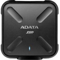 Dyski zewnętrzne, A-Data zewnętrzny dysk półprzewodnikowy ASD700 256GB SSD USB 3.0 Black (ASD700-256GU3-CBK)
