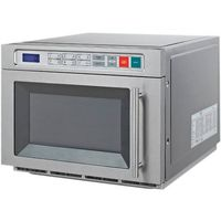 Kuchenki mikrofalowe gastronomiczne, Kuchenka mikrofalowa, sterowanie elektroniczne, 1,8 kW, 490x637x405 mm | STALGAST, 775019