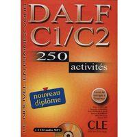 Książki do nauki języka, Dalf C1/C2 250 Activites Nouveau Diplome Książka + Cd (opr. miękka)