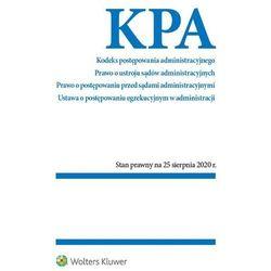 Kodeks postępowania administracyjnego prawo o ustroju sądów administracyjnych. postępowania przed sądami administracyjnymi (opr. broszurowa)