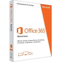 Office 365 PL Business (5 stanowisk, subskrypcja na 3 miesiące) ESD