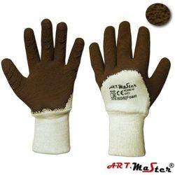 Rękawice ochronne ocieplane z dzianiny bawełnianej RGSj FOAM kat. I 10