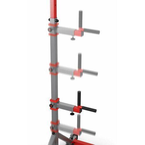 Sprzęt do gimnastyki, Drążek treningowy do podciągania stacjonarny do ćwiczeń+poręcz KSSL060/DIP
