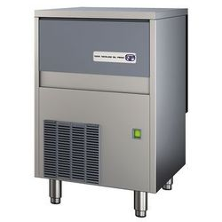 Łuskarka do lodu typu granulat 85 kg/24 h, pojemność zasobnika 30 kg, chłodzona powietrzem, 0,55 kW, 500x660x800 mm | NTF, SLT 180 A