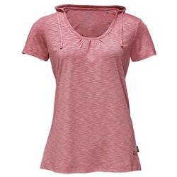 Damska koszulka z kapturem TRAVEL HOODY T WOMEN rose quartz - XL
