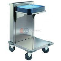 Wózki na żywność, Wózek transportowy z ruchomą platformą do tac CNB