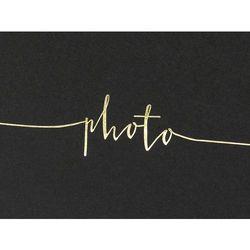 Album na zdjęcia Photo czarny - 22 kartki