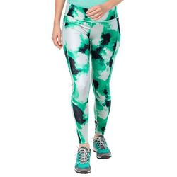Legginsy ATHLETIC CLOUD TIGHTS WMN deep mint all over - L
