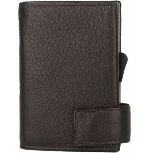 Etui i pokrowce, SecWal SecWal 1 Kreditkartenetui Geldbörse RFID Leder 9 cm dunkelbraun ZAPISZ SIĘ DO NASZEGO NEWSLETTERA, A OTRZYMASZ VOUCHER Z 15% ZNIŻKĄ