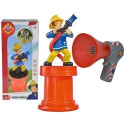 Simba Strażak Sam spryskiwacz ogrodowy i megafon Strażaka Sama