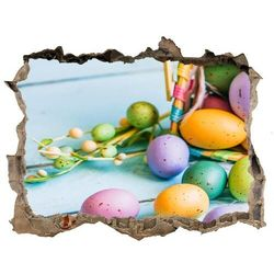 Samoprzylepna naklejka na ścianę Wielkanocne jajka