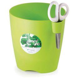 Doniczka na zioła Limes Uno - Prosperplast (Wysokość doniczki:: 130 mm, Kolor:: Kawa z mlekiem)