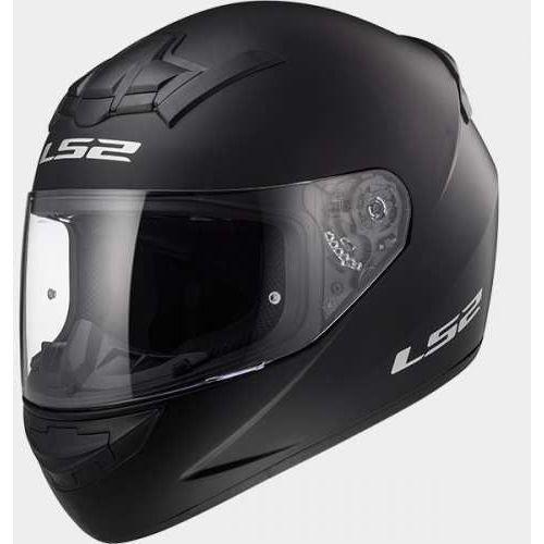 Kaski motocyklowe, KASK LS2 FF352 SINGLE ROOKIE MATT BLACK