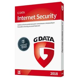 G Data INTERNET SECURITY 3PC 2 lata ESD