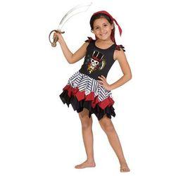 Kostium Piratki dla dziewczynki - M - 116 cm
