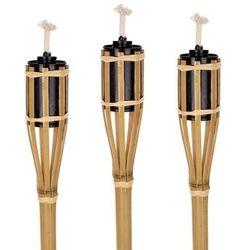 Bambusowe pochodnie, 60 cm, 3 sztuki
