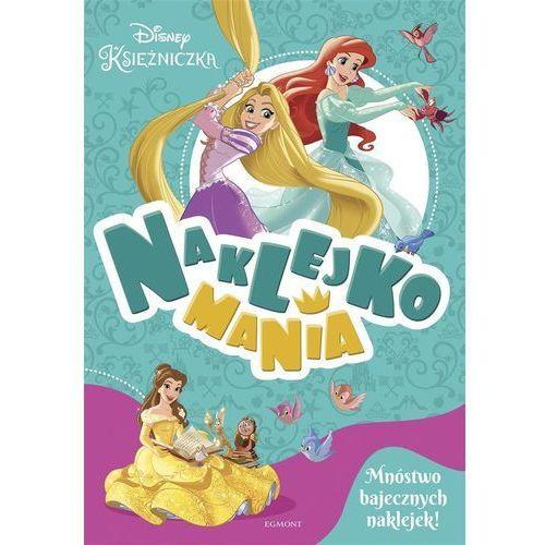 Książki dla dzieci, Naklejkomania. Księżniczki (opr. broszurowa)
