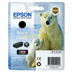 EPSON 26XL Series Polar bear black ink cartridge in RS blister pack