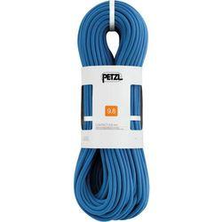 Petzl Contact Rope 9,8mm x 80m, niebieski 2021 Liny pojedyncze