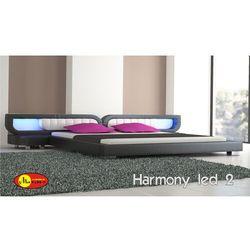 Zestaw łóżko HARMONY LED 2 z materacem kieszeniowym