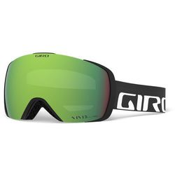 Giro Contact Gogle, black/vivid emerald/vivid infrared 2019 Gogle narciarskie