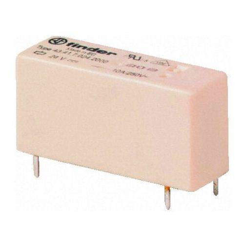 Przekaźniki, Przekaźnik 1NO 10A 5V DC, Styk AgCdO 43-41-7-005-2300