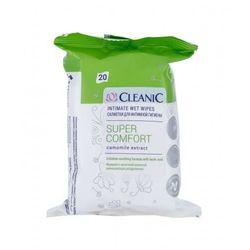 Cleanic Super Comfort Camomile kosmetyki do higieny intymnej 20 szt dla kobiet