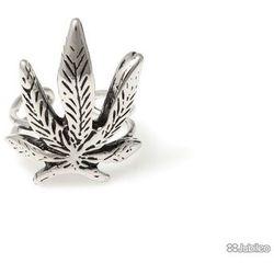 PIERŚCIEŃ MARIHUANA marihuana reggae rasta rośliny