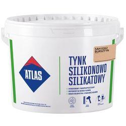 Tynk silikonowo-silikatowy Atlas bursztyn 25 kg