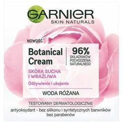 Garnier Botanical Rose, 50 ml. Krem do twarzy odżywienie i ukojenie