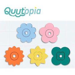 Zestaw puzzli piankowych quutopia kwiaty, quut, 10 m+