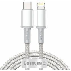 BASEUS DATA PD20W KABEL USB-C DO LIGHTNING 2M BIAŁY