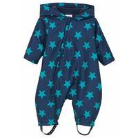 Kombinezony dziecięce, Kombinezon niemowlęcy przeciwdeszczowy, na podszewce bonprix ciemnoniebieski