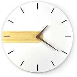 Zegar wiszący NORD Line DREWNIANY
