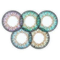 Soczewki kontaktowe, ColourVue One Day TruBlends Rainbow 2 - zerówki (10 soczewek)