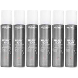 Goldwell StyleSign Perfect Hold Magic Finish   Zestaw: silnie utrwalający spray nabłyszczający 6x300ml